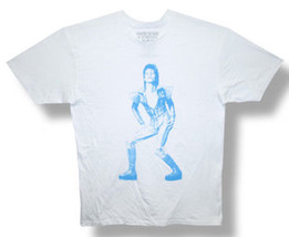 David Bowie-Ziggy Stardust Solo-Retro-White T-shirt - $19.99