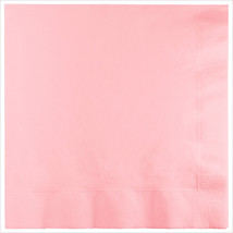 3 Ply 1/4 Fold Dinner Napkins Classic Pink/Case of 250 - £30.84 GBP
