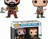 Funko Pop Games: God of War-Kratos and Arteus Collectible Toy