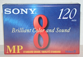 SONY 8mm Tape - Video 8 MP Standard Grade - 120 Minutes - $6.75