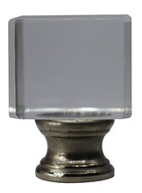 """Urbanest Crystal Glace Lamp Finial, 1 1/2"""" Tall - $13.85+"""