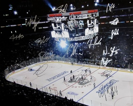 2014-15 L.A. Kings Team Autographed Signed 16X20 Photo Poster Coa Kopitar Quick - $174.99