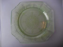 "Hocking Depression Glass Green ""Princess"" Dinner Plate ca. 1930s - $12.00"