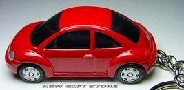 KEY CHAIN RED VW NEW BEETLE VOLKSWAGEN & BLACK TINTED WINDOWS CUSTOM LTD... - $38.98