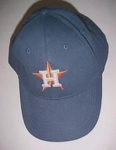 Houston Astros Team Logo Star MLB AL Adult Unisex Blue Baseball Cap One Size - $19.79