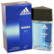 Adidas Moves by Adidas Eau De Toilette Spray 1.7 oz Great price and 100% authent