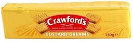 Crawfords Custard Creams 5.29 Oz Pack of 2