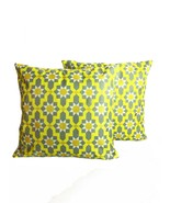 AARUSH1 Yellow Throw Pillow Covers Set of 2 Decor Cushion Cases 45X45cm sofa bed - $9.39