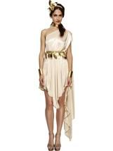 Smiffys Fever Dea Antico Roma Grecia Donna Costume Halloween 20561 - $39.23