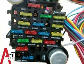 20 Circuit Wiring Harness CHEVY MOPAR FORD JEEP HOTRODS UNIVERSAL image 3