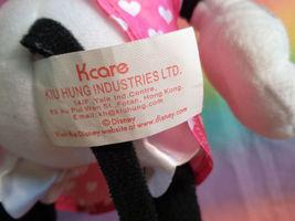 "Disney Kcare Kiu Hung Industries Minnie Mouse Pink Dress Plush Doll 13"" image 7"