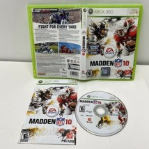 Madden NFL 10 (Microsoft Xbox 360, 2009) With Manual - $4.99