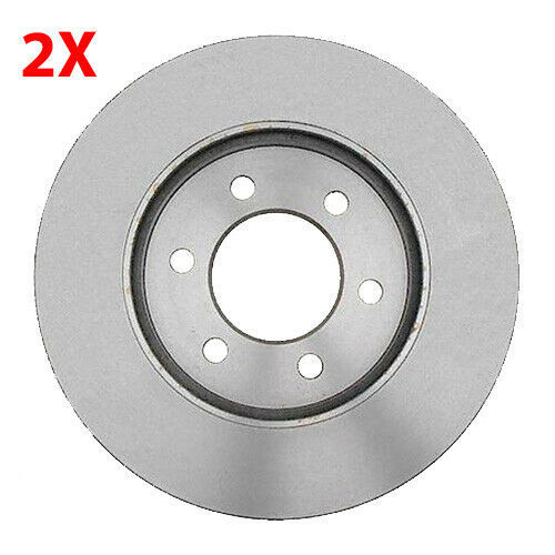 Set of 2 Carquest Brake Rotors Front Ford Expedition Lincoln Navigator 2003-2006