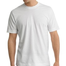 New Men's Heavy Weight Sport Gym Undershirt Cotton Crew Neck T Shirt White