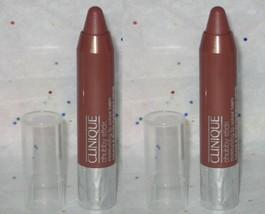 2 x Clinique Chubby Stick Moisturizing Lip Color Balm Whole Lotta Honey - Travel - $15.98