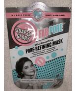 Soap & Glory PORE-REFINING MASK Skin-Smoothing Fab Pore Willowbark 1 oz/... - $8.90