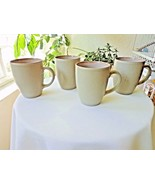 Mikasa MK102 Set of 4 Grey Coffee Mugs - $19.80