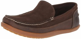 Timberland Men's Odlay Venetia Dark Brown Leather Slip On Loafer Shoes A141E USA - $64.99