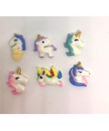 Unicorn Push Pins Thumb Tacks  X6 - $9.99