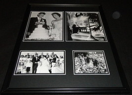 President John F Kennedy JFK Wedding Framed 16x20 Photo Collage - $79.19
