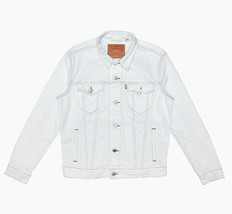 Levi's Mens Pride Trucker Jacket Rainbow LGBT White Denim Sizes M L XL 2... - $80.78