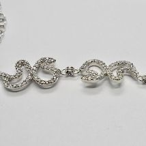 925 STERLING SILVER NECKLACE BUTTERFLY WING & ZIRCONIA MADE IN ITALY MARIA IELPO image 6