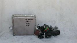 99 Accord 2.3L ATX ECU ECM Engine Control Module 37820-PAA-L61 w/ Igntion Switch