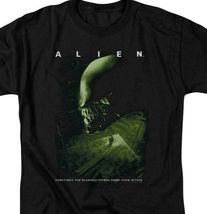 Alien t-shirt Scariest Things Within retro 70's 80's Sci-Fi graphic tee TCF108 image 3