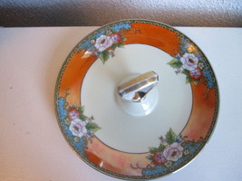 "Vintage Noritake Candy Dish 7 1/2"" Japan Handpainted - $9.99"
