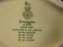"""The Smuggler D6619 Royal Doulton Character Toby Jug Small 4"""" 10cm  image 5"""
