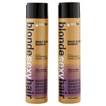 Sexy Hair Blonde Sexy Hair Bright Blonde Shampoo 2 ct 10.1 oz  - $34.26