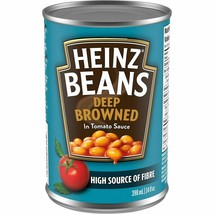 12 HEINZ Deep-Browned Beans with Tomato Sauce 398ml/14oz Canada FRESH  - $49.25