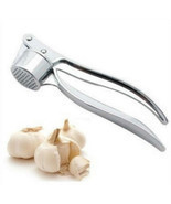 Garlic Presser Crusher Peeler Ginger Tool Kitchen Slicer Hand Press Cutt... - $14.52 CAD