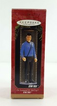 Hallmark Star Trek Ornament Dr Leonard H. McCoy 1997 - $9.89