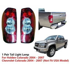 1 PAIR REAR TAIL LIGHT LAMP FOR CHEVROLET COLORADO PICKUP PICK-UP 2004 -... - $95.35