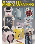 Animal Wrappers, The Needlecraft Shop Plastic Canvas Pattern Booklet 89PA2 - $2.95