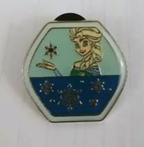 2015 Disney Frozen Elsa Hidden Mickey 10 of 12 Trading Lapel Pin - $7.69