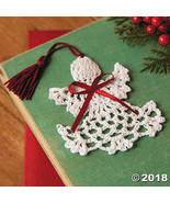 Cotton Crocheted Angel Bookmarks, Set of 12 - $10.86