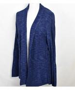 NIK  ZOE Sweater XL Blue with White Flex Cotton Blend Hand Wash - £72.72 GBP