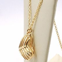 SILVER 925 NECKLACE, HEART DOMED AND PERFORATED PENDANT, BY MARY JANE IELPO image 3