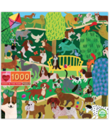 eeBoo Dogs in the Park 1000 Piece Puzzle - $23.00