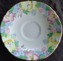 Vintage Crown Staffordshire Saucer - F14910 - Excellent Condition - Beautiful - $16.82