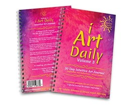 iArtDaily 30 Day Intuitive Art Journal - Volume 3 - Quote Art Prompts fo... - $29.93