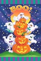 Toland Home Garden Ghost Party 12.5 x 18 Inch Decorative Colorful Hallow... - £20.32 GBP