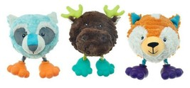 Dog Toys Footies Funny Plush Ball Characters With Feet Choose Character ... - $14.74+