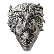 DC Comics The Joker Face 3D Metal Pewter Lapel Pin NEW UNUSED Batman - $5.94