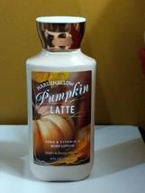Bath & Body Works Marshmallow Pumpkin Latte Lotion 8oz - $16.10