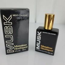 Vintage Monsieur Houbigant Musk 2 Fl Oz 59 ml. Men's Cologne Splash - $98.99