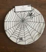 Storehouse Halloween Table placemats Spider Web  Black & White Nwt Set Of 4 - $29.99