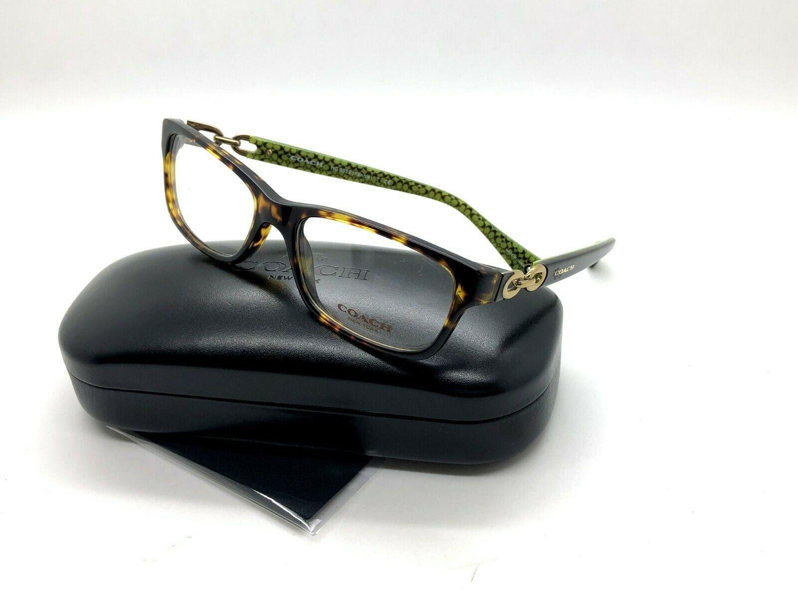 fc5a4480080 COACH HC 6052 5232 Fannie Eyeglasses Frames and 50 similar items